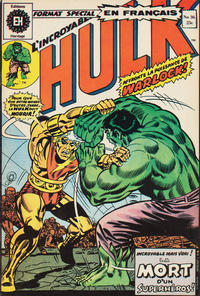 Cover Thumbnail for L' Incroyable Hulk (Editions Héritage, 1968 series) #36