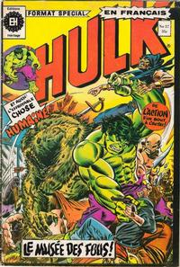 Cover Thumbnail for L' Incroyable Hulk (Editions Héritage, 1968 series) #57