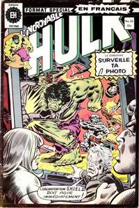 Cover Thumbnail for L'Incroyable Hulk (Editions Héritage, 1968 series) #58