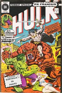 Cover Thumbnail for L' Incroyable Hulk (Editions Héritage, 1968 series) #60