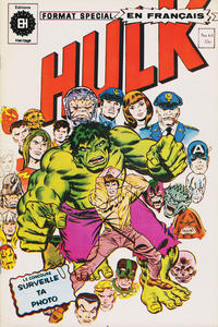 Cover Thumbnail for L'Incroyable Hulk (Editions Héritage, 1968 series) #61