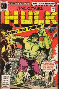 Cover Thumbnail for L'Incroyable Hulk (Editions Héritage, 1968 series) #65
