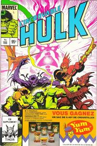 Cover Thumbnail for L'Incroyable Hulk (Editions Héritage, 1968 series) #166