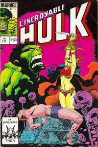 Cover Thumbnail for L'Incroyable Hulk (Editions Héritage, 1968 series) #171
