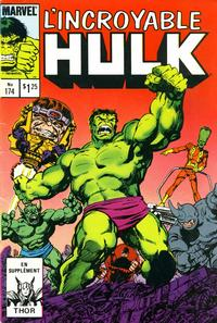 Cover Thumbnail for L'Incroyable Hulk (Editions Héritage, 1968 series) #174