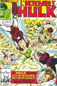 Cover Thumbnail for L'Incroyable Hulk (Editions Héritage, 1968 series) #176