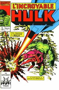 Cover Thumbnail for L' Incroyable Hulk (Editions Héritage, 1968 series) #178