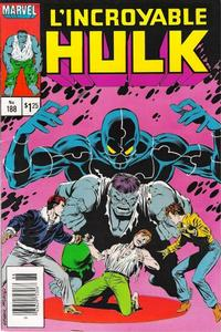 Cover Thumbnail for L'Incroyable Hulk (Editions Héritage, 1968 series) #188