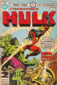 Cover Thumbnail for L'Incroyable Hulk (Editions Héritage, 1968 series) #104/105