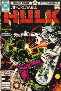 Cover Thumbnail for L'Incroyable Hulk (Editions Héritage, 1968 series) #108/109