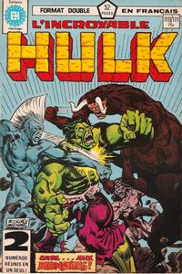 Cover Thumbnail for L' Incroyable Hulk (Editions Héritage, 1968 series) #110/111