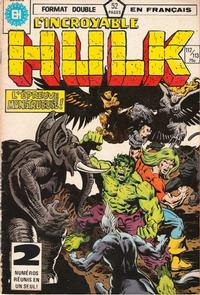 Cover Thumbnail for L'Incroyable Hulk (Editions Héritage, 1968 series) #112/113