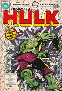 Cover Thumbnail for L'Incroyable Hulk (Editions Héritage, 1968 series) #120/121