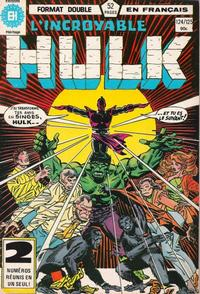 Cover Thumbnail for L' Incroyable Hulk (Editions Héritage, 1968 series) #124/125