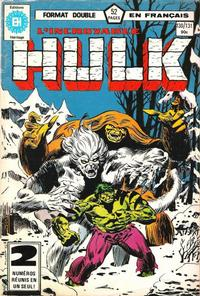 Cover Thumbnail for L'Incroyable Hulk (Editions Héritage, 1968 series) #130/131