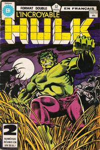 Cover Thumbnail for L'Incroyable Hulk (Editions Héritage, 1968 series) #132/133