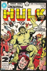 Cover Thumbnail for L'Incroyable Hulk (Editions Héritage, 1968 series) #138/139