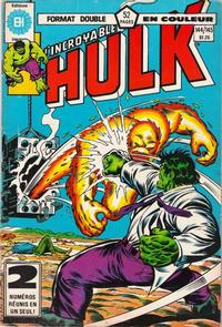 Cover Thumbnail for L'Incroyable Hulk (Editions Héritage, 1968 series) #144/145
