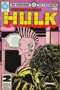 Cover Thumbnail for L'Incroyable Hulk (Editions Héritage, 1968 series) #146/147
