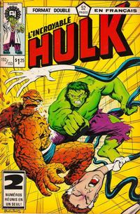 Cover Thumbnail for L' Incroyable Hulk (Editions Héritage, 1968 series) #152/153