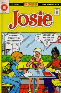 Cover Thumbnail for Josie (Editions Héritage, 1974 series) #35