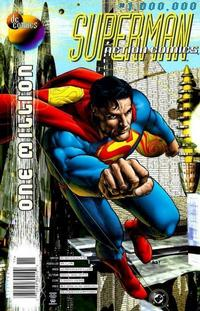 Cover Thumbnail for Action Comics (DC, 1938 series) #1,000,000 [Newsstand]