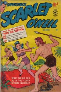 Cover Thumbnail for Invisible Scarlet O'Neil (Harvey, 1950 series) #2