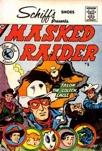 Cover Thumbnail for Masked Raider (Charlton, 1959 series) #5 [Schiff's Shoes]