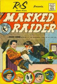 Cover Thumbnail for Masked Raider (Charlton, 1959 series) #10 [R & S Shoe Store]