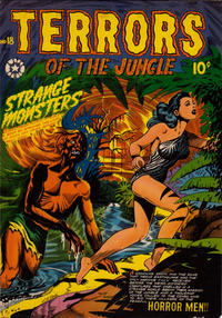 Cover Thumbnail for Terrors of the Jungle (Star Publications, 1952 series) #18