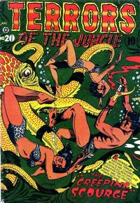 Cover Thumbnail for Terrors of the Jungle (Star Publications, 1952 series) #20