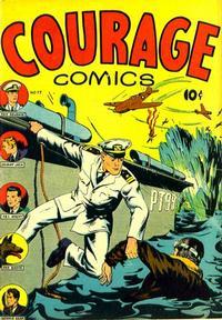 Cover Thumbnail for Courage Comics (J. Edward Slavin, 1945 series) #77