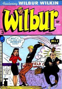 Cover Thumbnail for Wilbur Comics (Archie, 1944 series) #3