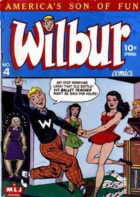 Cover Thumbnail for Wilbur Comics (Archie, 1944 series) #4