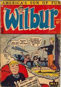 Cover Thumbnail for Wilbur Comics (Archie, 1944 series) #5