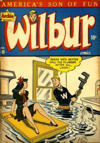 Cover Thumbnail for Wilbur Comics (Archie, 1944 series) #8
