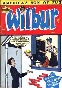 Cover Thumbnail for Wilbur Comics (Archie, 1944 series) #11