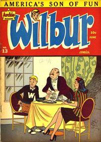 Cover Thumbnail for Wilbur Comics (Archie, 1944 series) #13