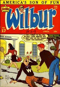 Cover Thumbnail for Wilbur Comics (Archie, 1944 series) #17