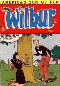 Cover Thumbnail for Wilbur Comics (Archie, 1944 series) #19