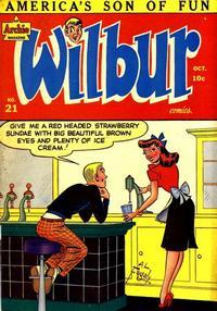 Cover Thumbnail for Wilbur Comics (Archie, 1944 series) #21