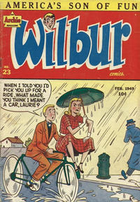 Cover Thumbnail for Wilbur Comics (Archie, 1944 series) #23