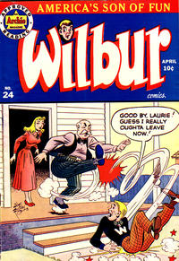 Cover Thumbnail for Wilbur Comics (Archie, 1944 series) #24