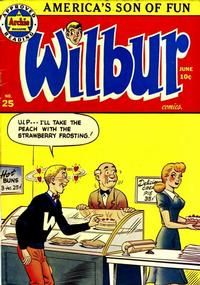 Cover Thumbnail for Wilbur Comics (Archie, 1944 series) #25