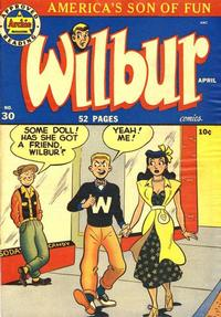 Cover Thumbnail for Wilbur Comics (Archie, 1944 series) #30