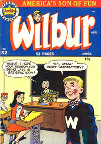 Cover Thumbnail for Wilbur Comics (Archie, 1944 series) #32