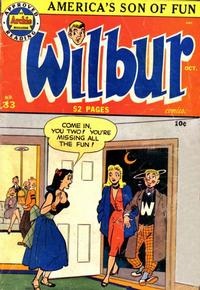 Cover Thumbnail for Wilbur Comics (Archie, 1944 series) #33
