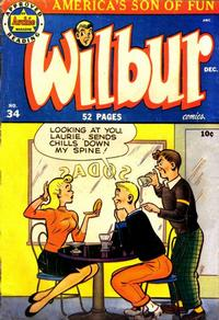 Cover Thumbnail for Wilbur Comics (Archie, 1944 series) #34