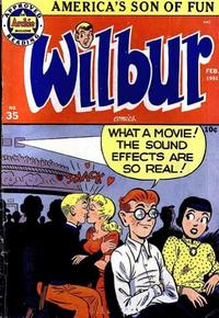Cover Thumbnail for Wilbur Comics (Archie, 1944 series) #35