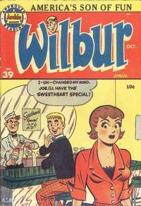 Cover Thumbnail for Wilbur Comics (Archie, 1944 series) #39